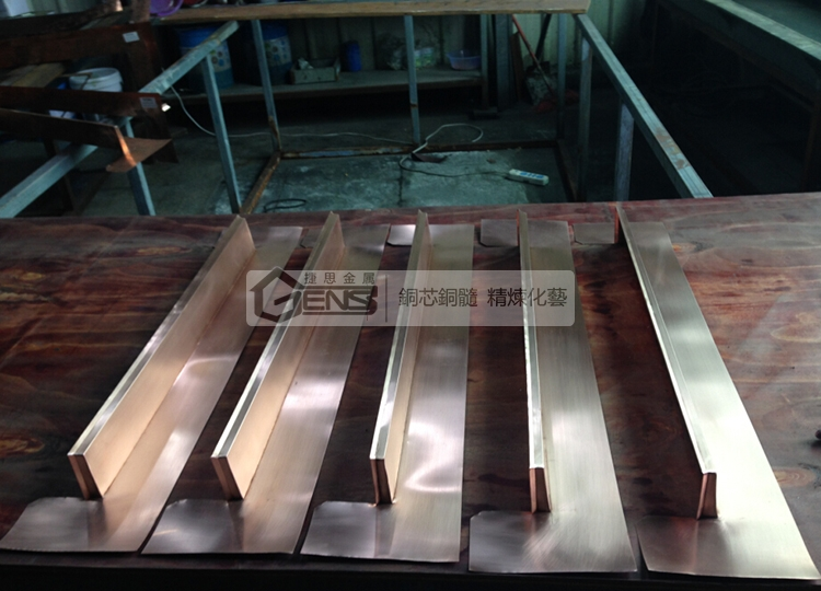 Shipment of Copper Building Products for Northern Customer