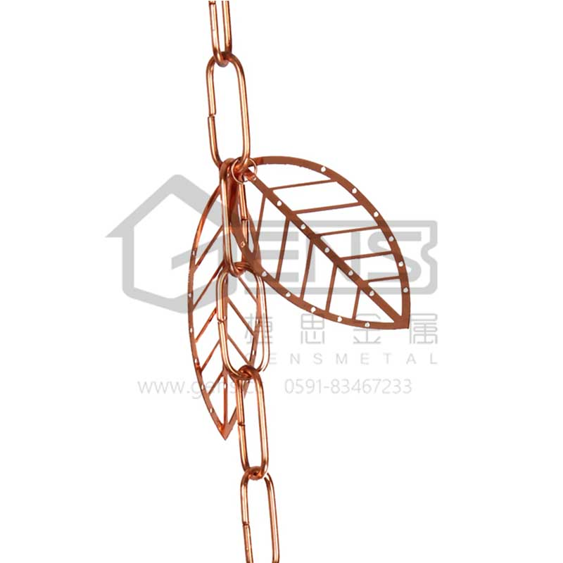 Copper Rain Chain GBGRC01016