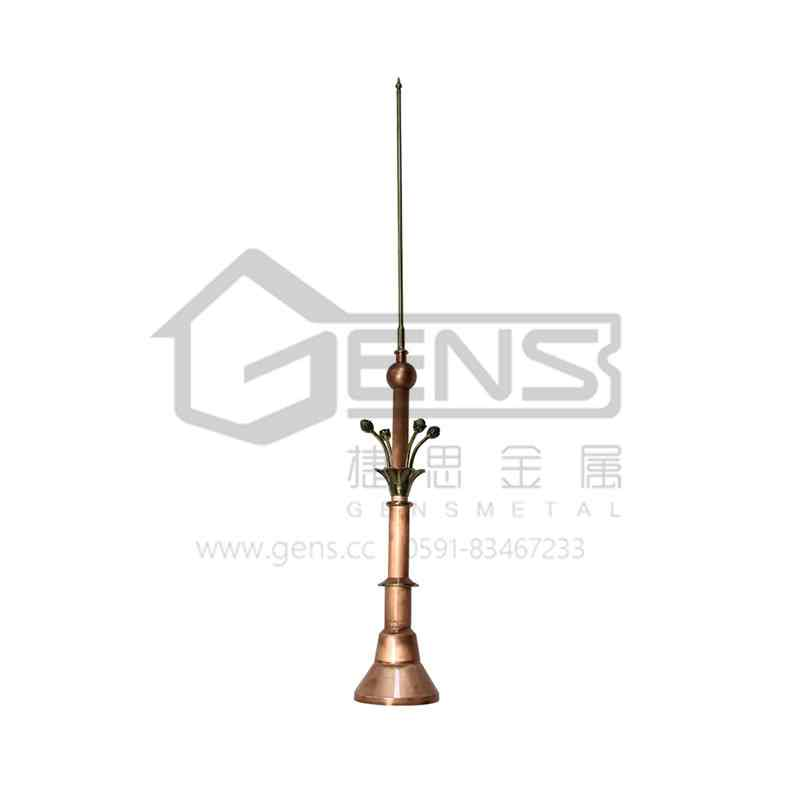 Copper lightning rod  GBGLR01016