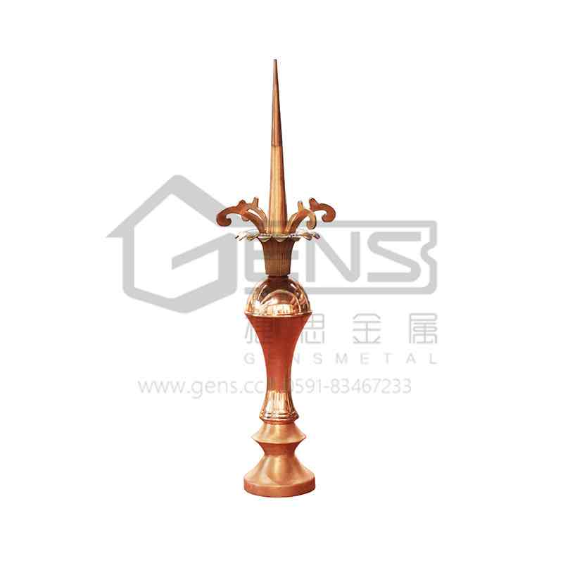 Copper lightning rod GBGLR01022
