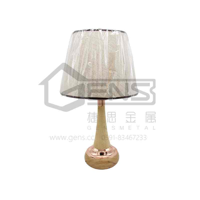 Copper & Wood Table Lamp  GHETL03001