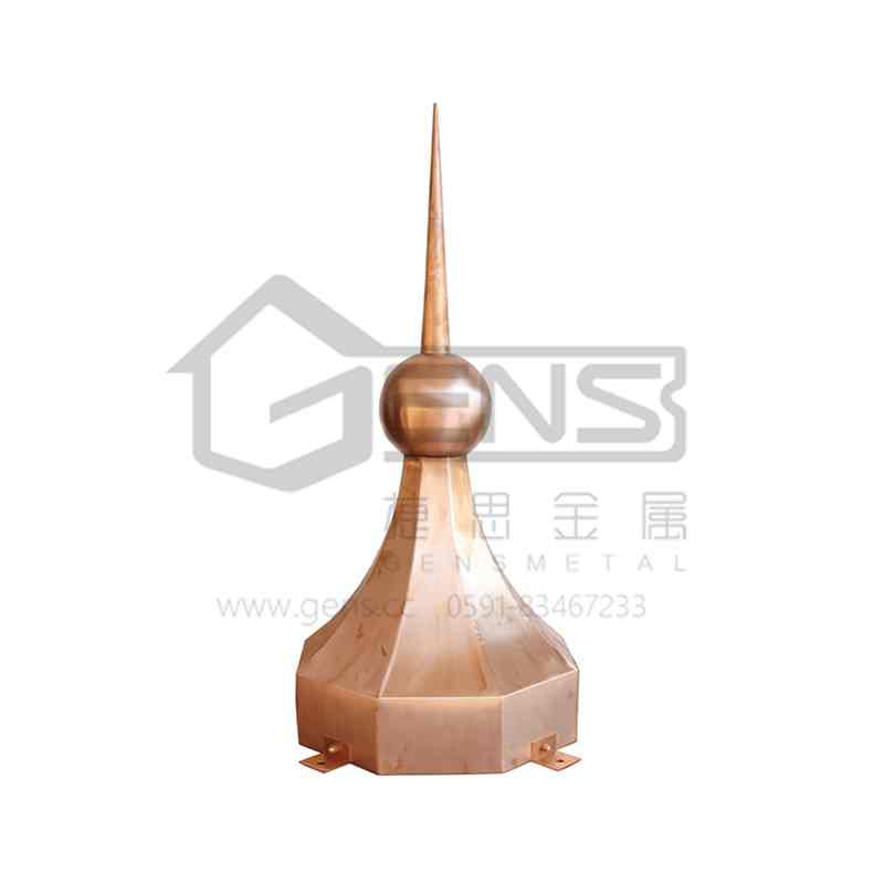Copper lightning rod GBGLR01008