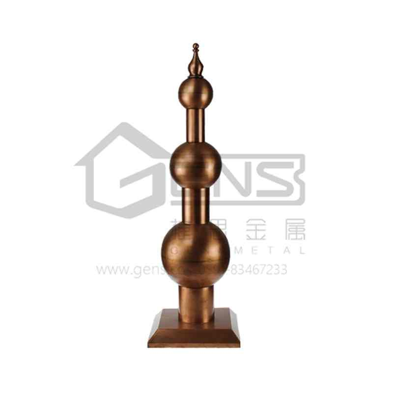 Copper lightning rod GBGLR01004
