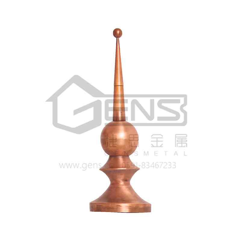 Copper lightning rod GBGLR01003