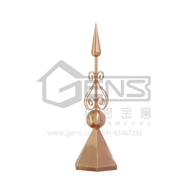 Copper lightning rod GBGLR01021