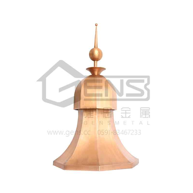 Copper lightning rod  GBGLR01010