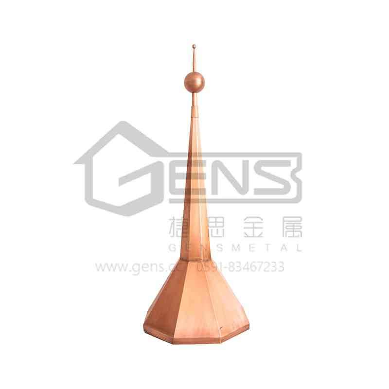 Copper lightning rod GBGLR01005