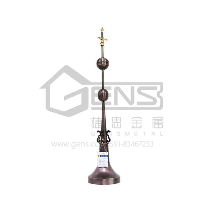 Copper lightning rod  GBGLR01017