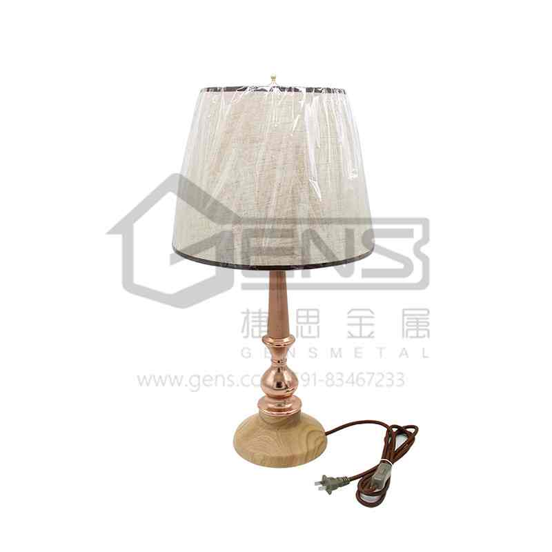 Copper & Wood  Table Lamp GHETL03002