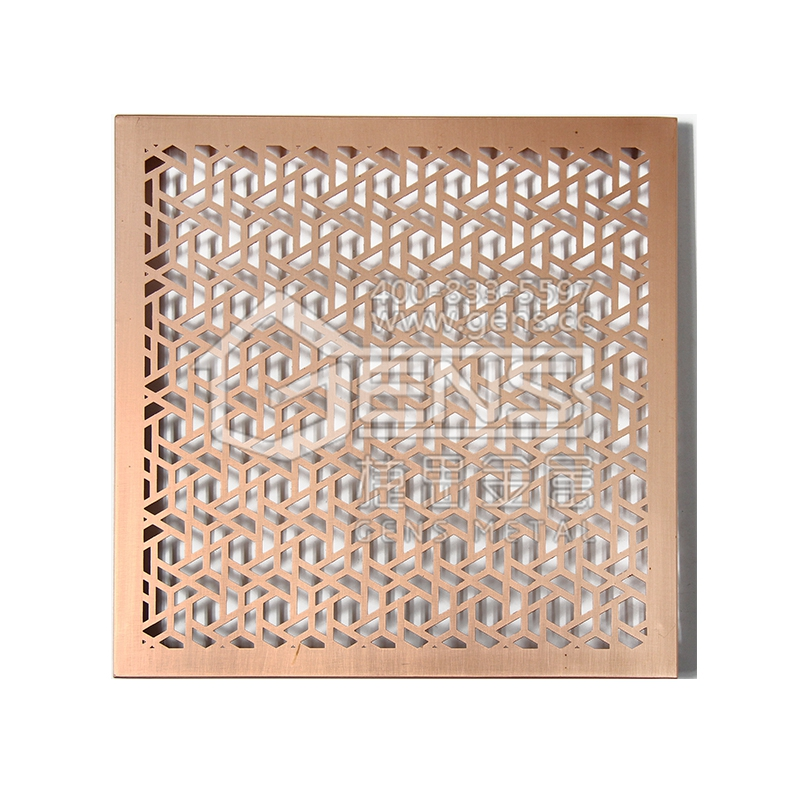 Copper curtain wall Outdoor Metal Plate
